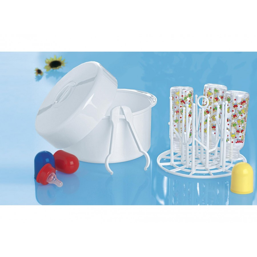 Стерилизатор бутылочек Reer для микроволновки (до 6 бутылок 250 мл) (297046)