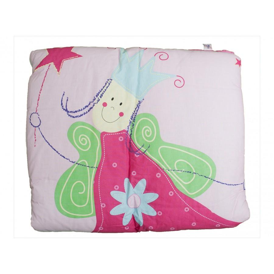 Одеяло-матрасик для игр и ползания «Веселая фея»  Roba (642673)