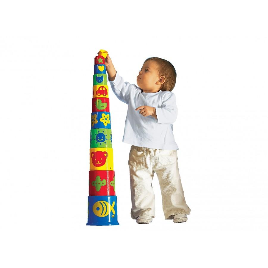Развивающая игрушка Пирамидка  Megcos (123646)