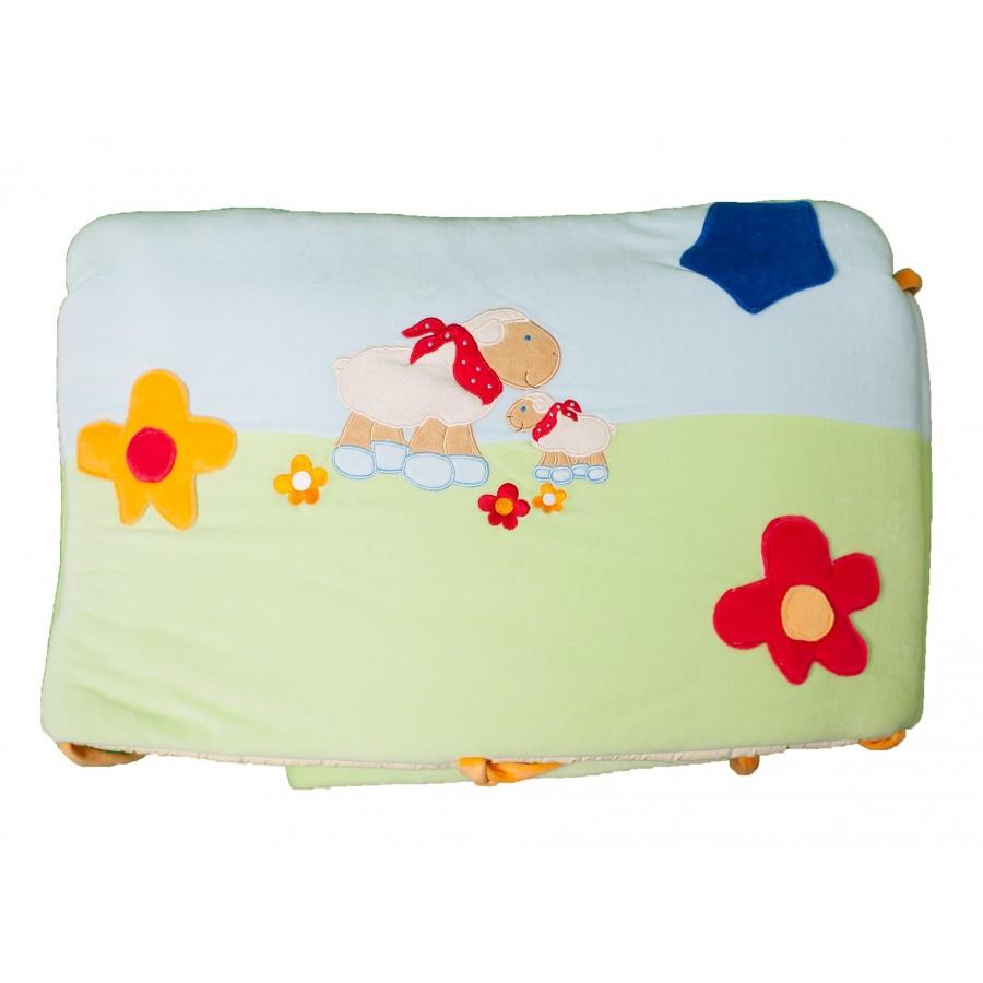 Бортик в кроватку с погремушками (350 см)  Supa (642991)