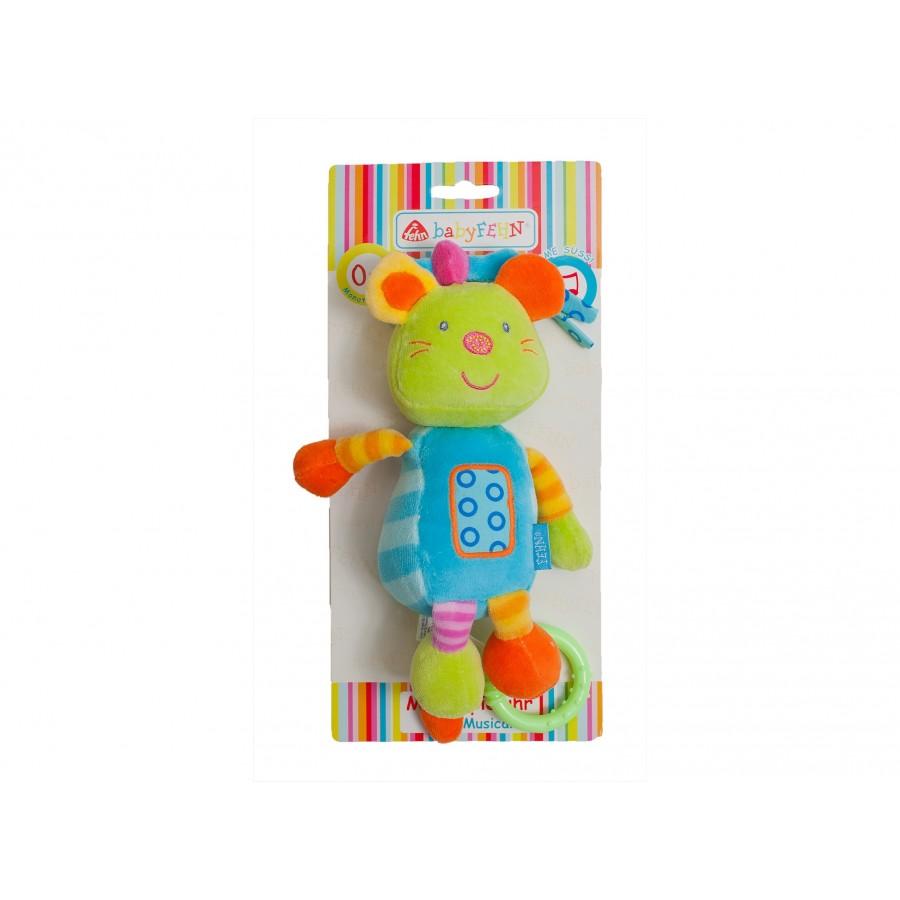 Музыкальная игрушка «Мышка»  babyFehn (122632)