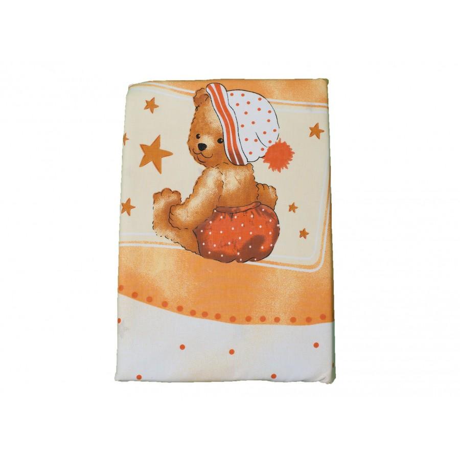 Комплект для кроватки «Овечки» (4 предмета: простынка, наволочка, пододеяльник, бортик)  Julius Zoellner (632821)