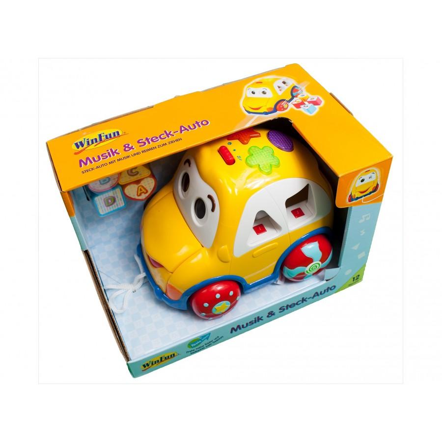 Музыкальная игрушка «Машинка»  WinFun (124405)