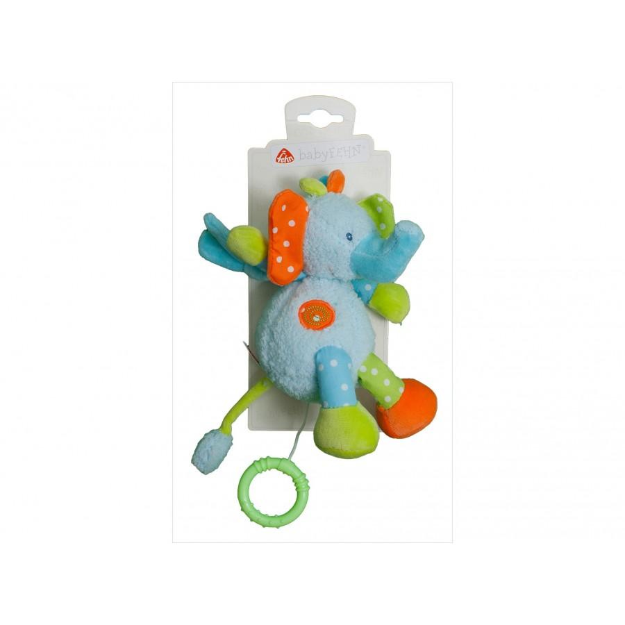 Музыкальная игрушка «Слоник»  babyFehn (109317)