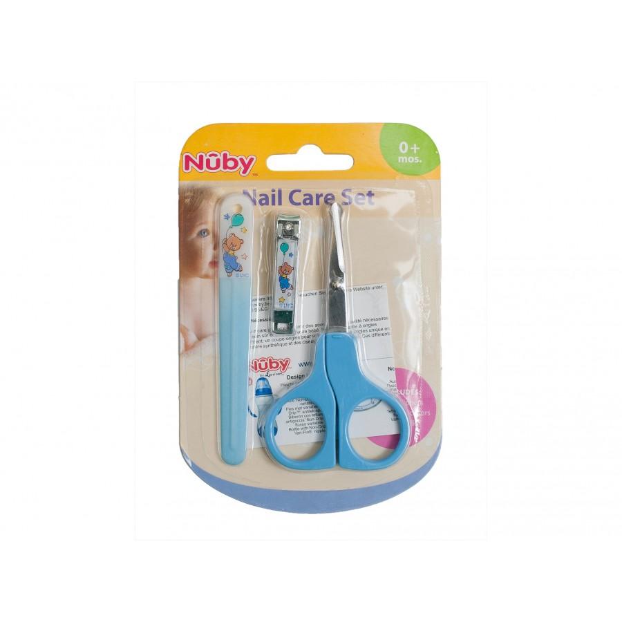 Маникюрный набор малыша Nuby, 3 предмета (296392)