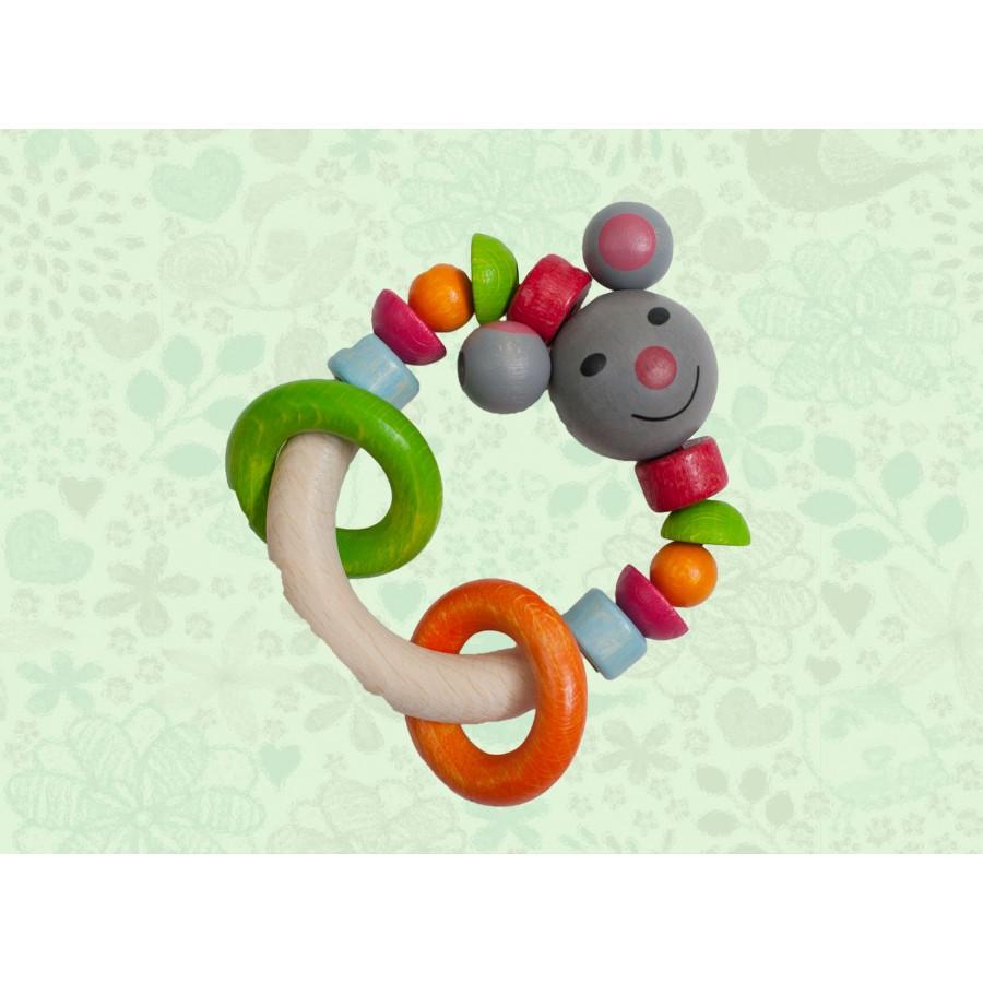 Кольцо-погремушка «Мышонок»  Baby-Walz (643670)