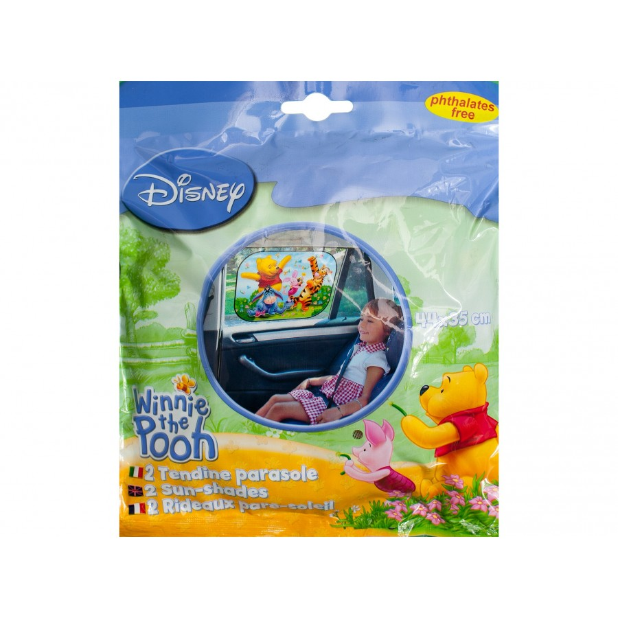 Шторка на стекло автомобиля «Винни Пух» (2 шт.)  Disney (106997)