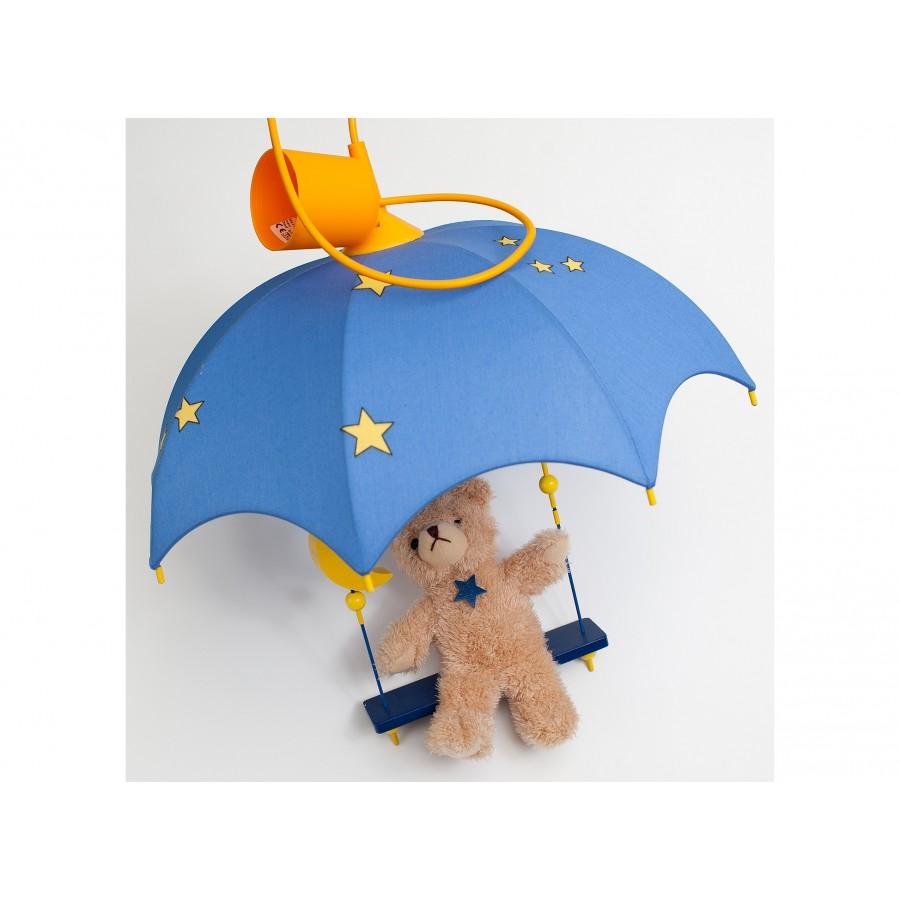 Светильник подвесной «Медвежонок на качелях» Waldi (636096)