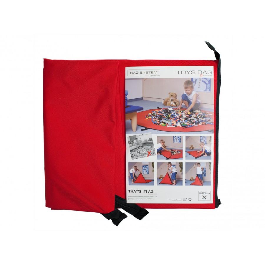 Сумка-коврик для игрушек  Bagsystem (857572)