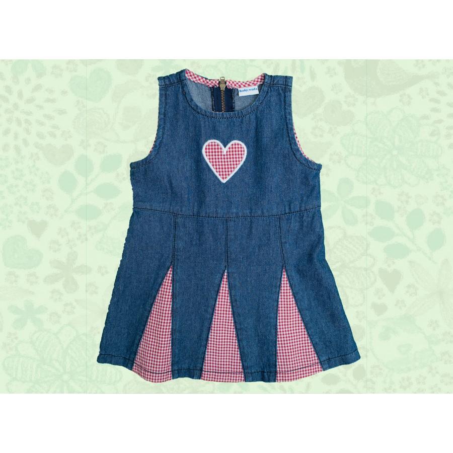 Платье джинсовое (655228)