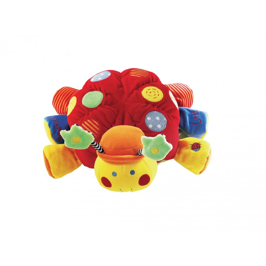 Мягкая игрушка-погремушка «Черепашка» 0+  Babyplay (633143)