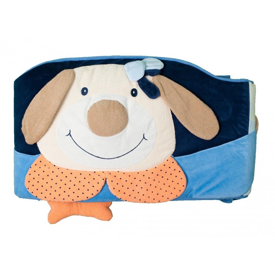 Бортик для кроватки «Моя собачка» с погремушками  bieco's (294691)