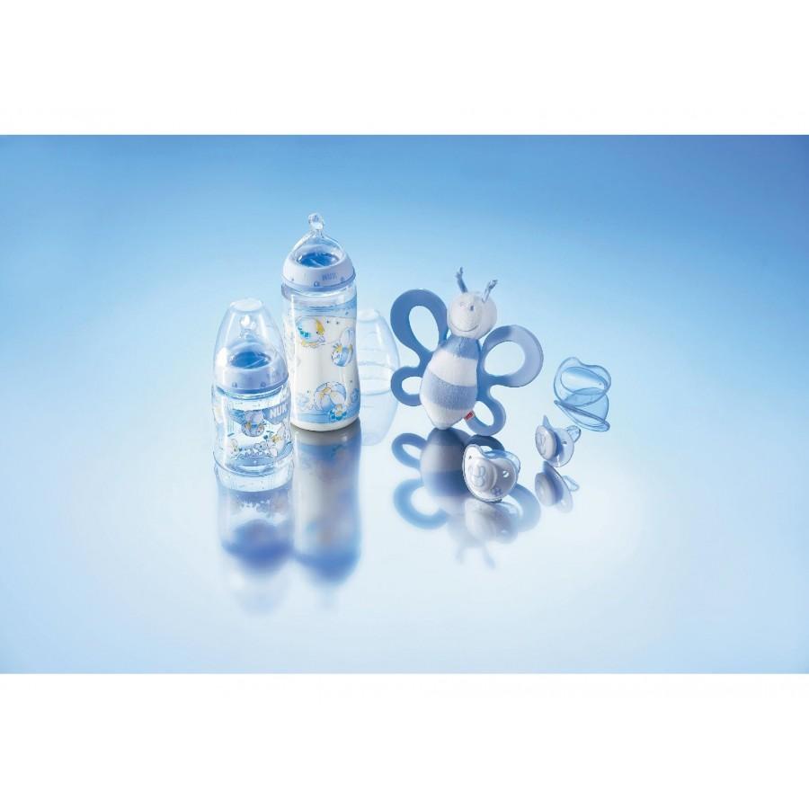 Подарочный набор NUK для новорожденного мальчика, 5 предметов  Nuk (628786)