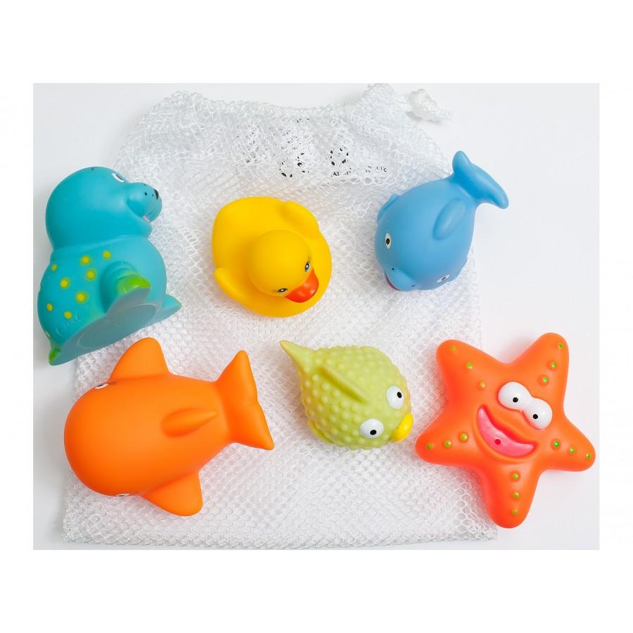 Набор игрушек для ванной из 6 шт, 1+  TRI Kottmann (638846)