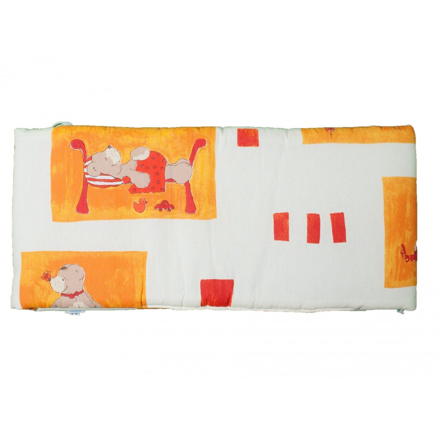Бортик в кроватку «Медвежата»  Alvi (616524)