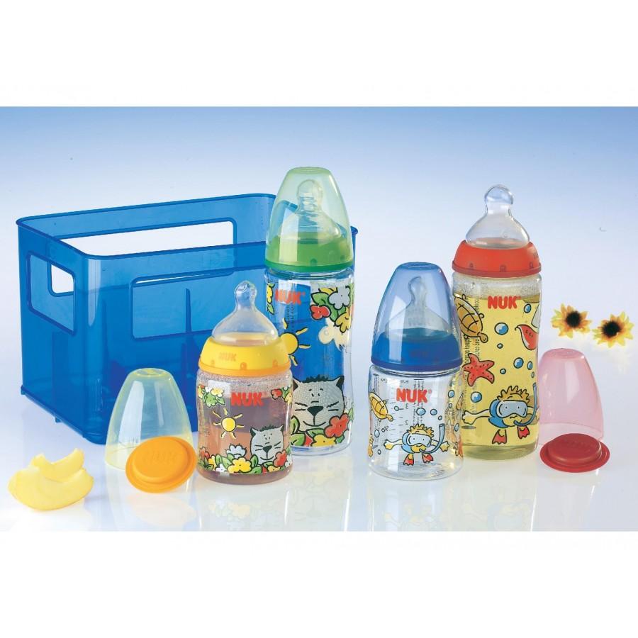 Комплект бутылочек NUK (4 шт.) (606626)
