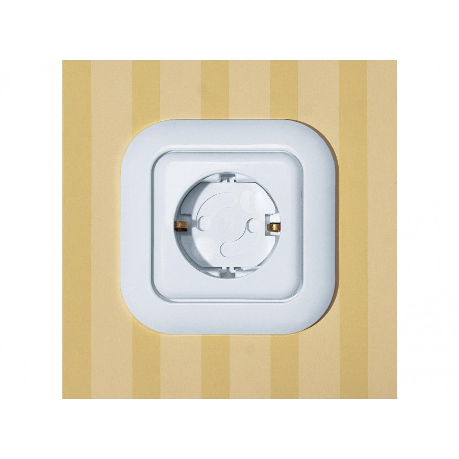 Защита на розетки Reer, прозрачная, 10 шт (259454)