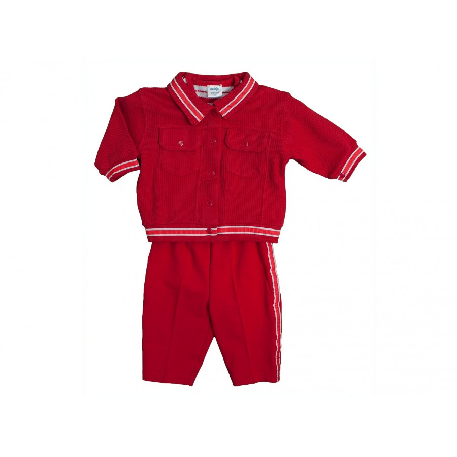 Комплект из 3-х предметов (жакет+футболка+брючки) (657220)